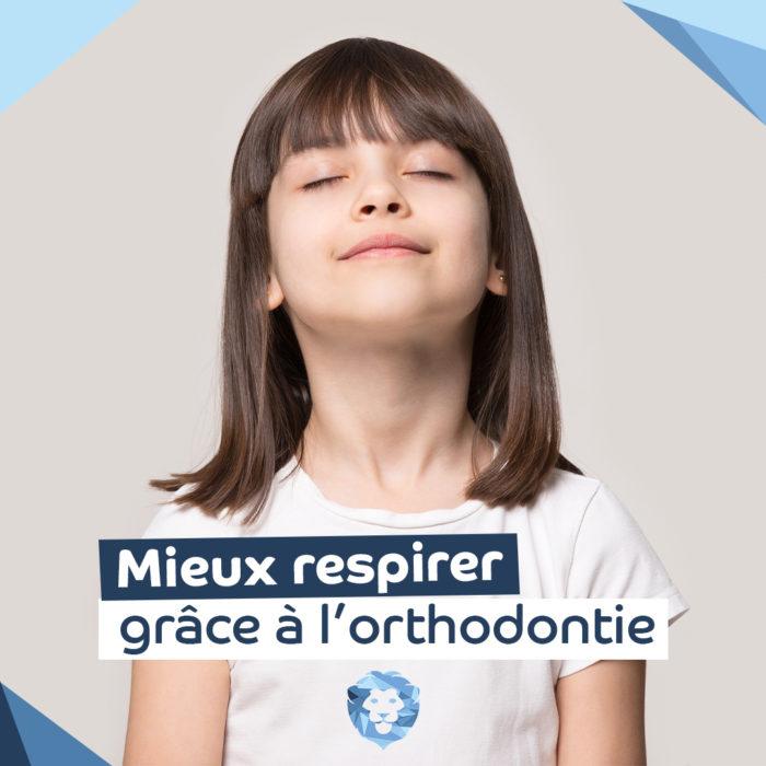 une meilleure respiration grâce à l'orthodontie. Cabinet orthodontie la rochelle docteur jacob et docteur pichon